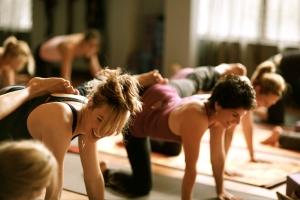 Yoga class 1